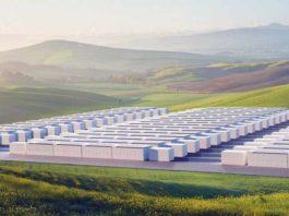 Tesla-Аляска-электробатарея