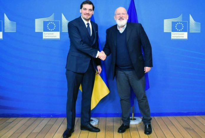 Гончарук-зеленое-соглашение-с-ЕС