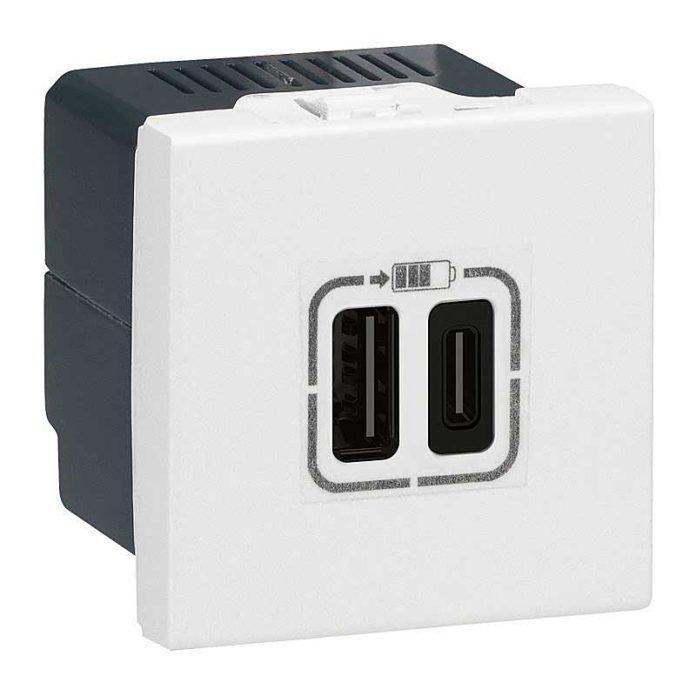 Электроблюз-Legrand-Mosaic-USB-HDMI