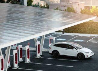 Электроблюз-Тесла-Supercharger-виэ