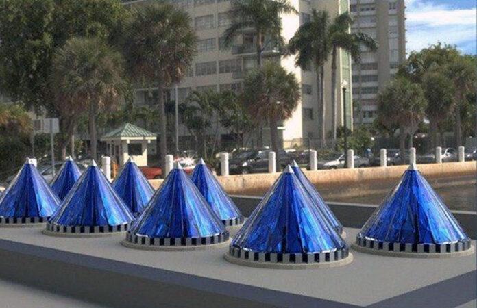 Электроблюз-V3Solar-Spin-Cell-конусообразная-солнечная-батарея